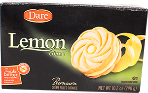 Dare Lemon Creme Cookies