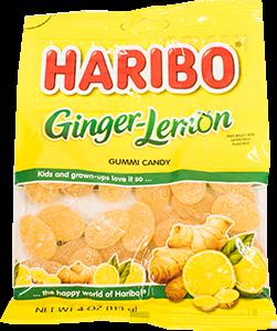 Haribo Ginger Lemon Gummi Candies