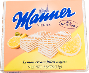 Manner's Lemon Cream-Filled Wafers