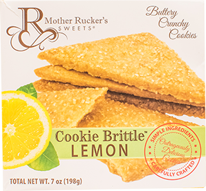 Mother Rucker's Lemon Cookie Brittle
