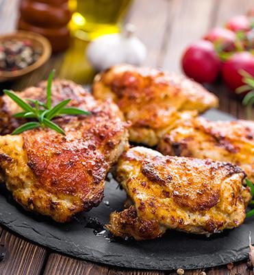 roasted chicken with sriracha