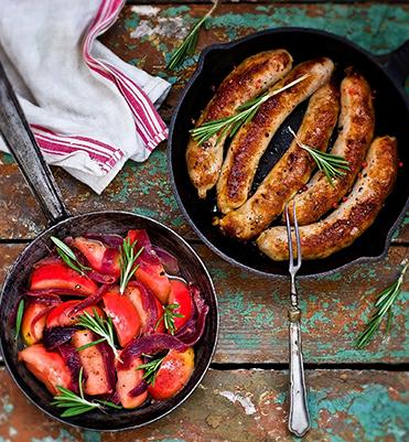 sausage apples