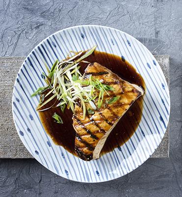 teriyaki grilled swordfish