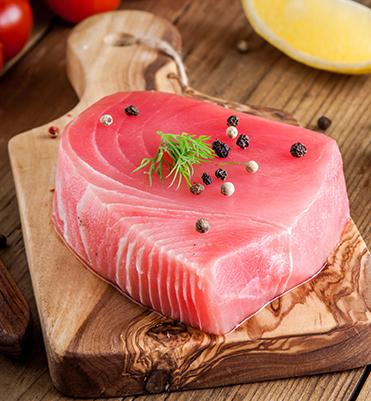 Tuna with Lime Pepper Crust